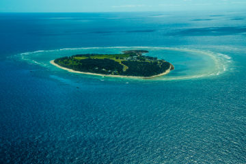 Reef island rescue plan to shore up climate change refuges