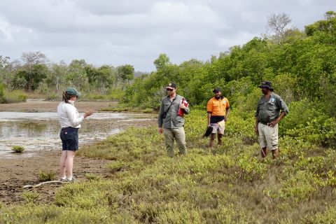 Cape York Reef visitors interpretive signage
