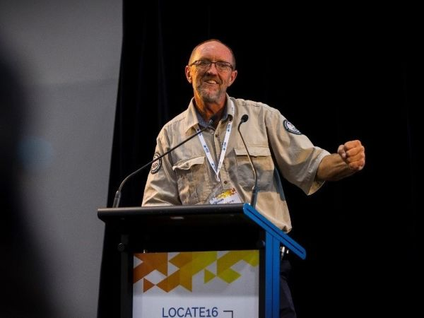 Andy at Locate16 conference