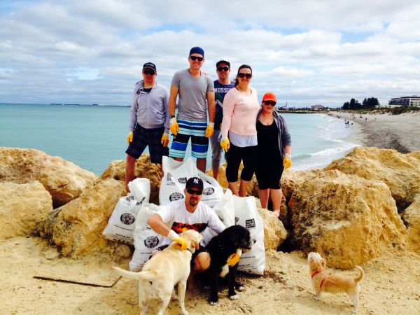 Beach clean-up