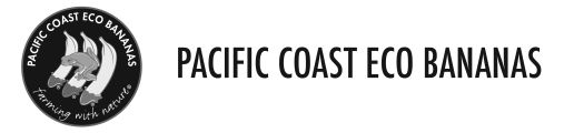 Pacific Coast Eco Bananas