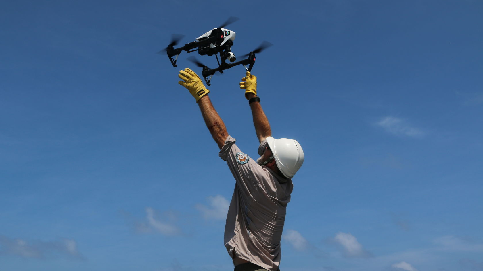 Using drones at Raine Island